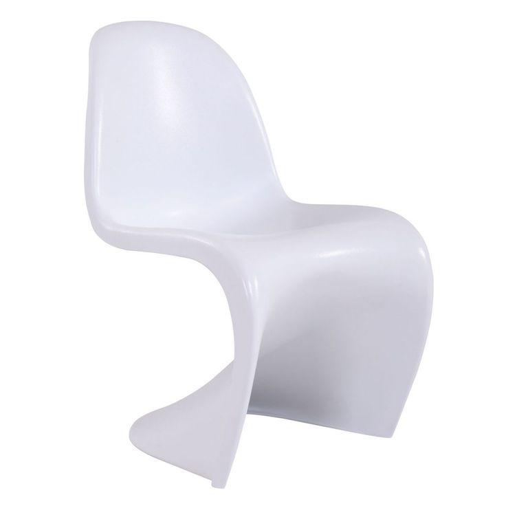 Sedia Panton in Abs nera o bianca a soli € 89,00!!  #fashioncommerce #sediadesign #arredodesign https://www.fashion-commerce.it/prodotti/sedia-panton-abs-nera-bianca/