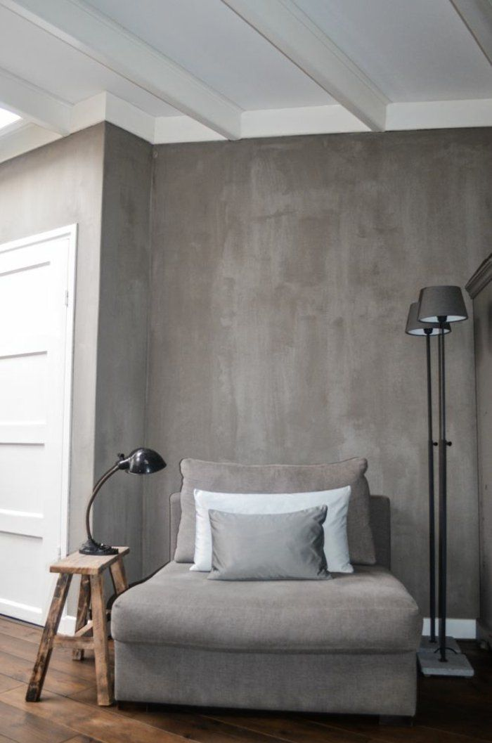 taupe wandfarbe im grauer nuance - Taupe Wandfarbe