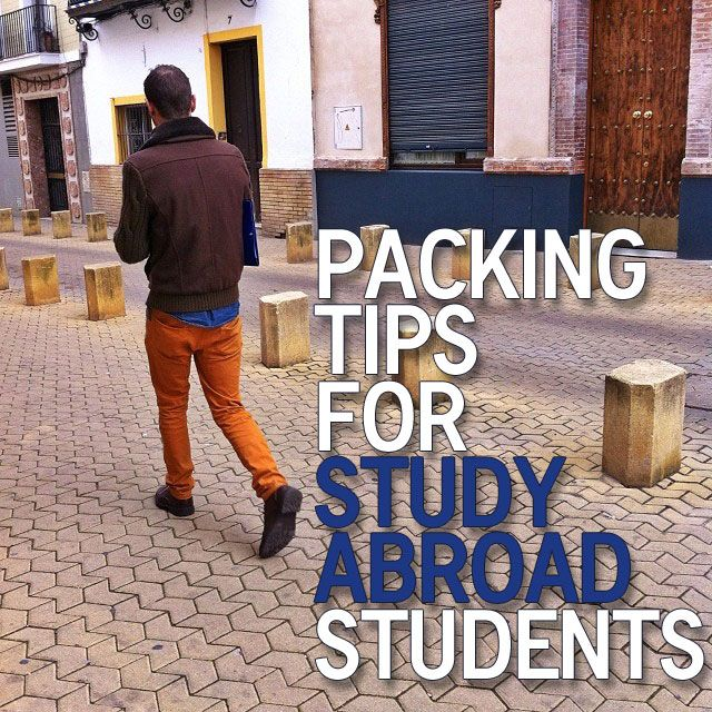 Packing Tips for Study Abroad Students.