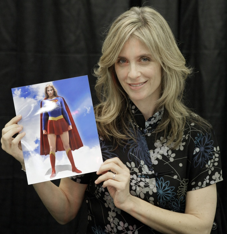 """Helen Slater """"Supergirl.""""in New York,  Friday, Oct. 16, 2009. (AP Photo/Richard Drew).    Nearly 30 years after she made the movie, she literally has not aged much at all!!!"""
