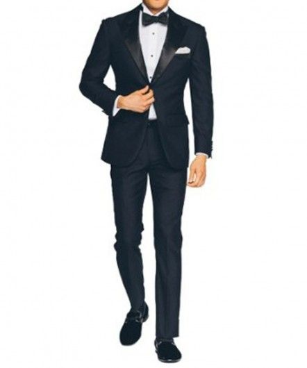 Slim Fit Midnight Blue Tuxedo | Shop with confidence with free shipping