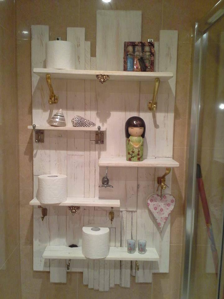 Organizador De Baño Easy:Pinterest Pallets