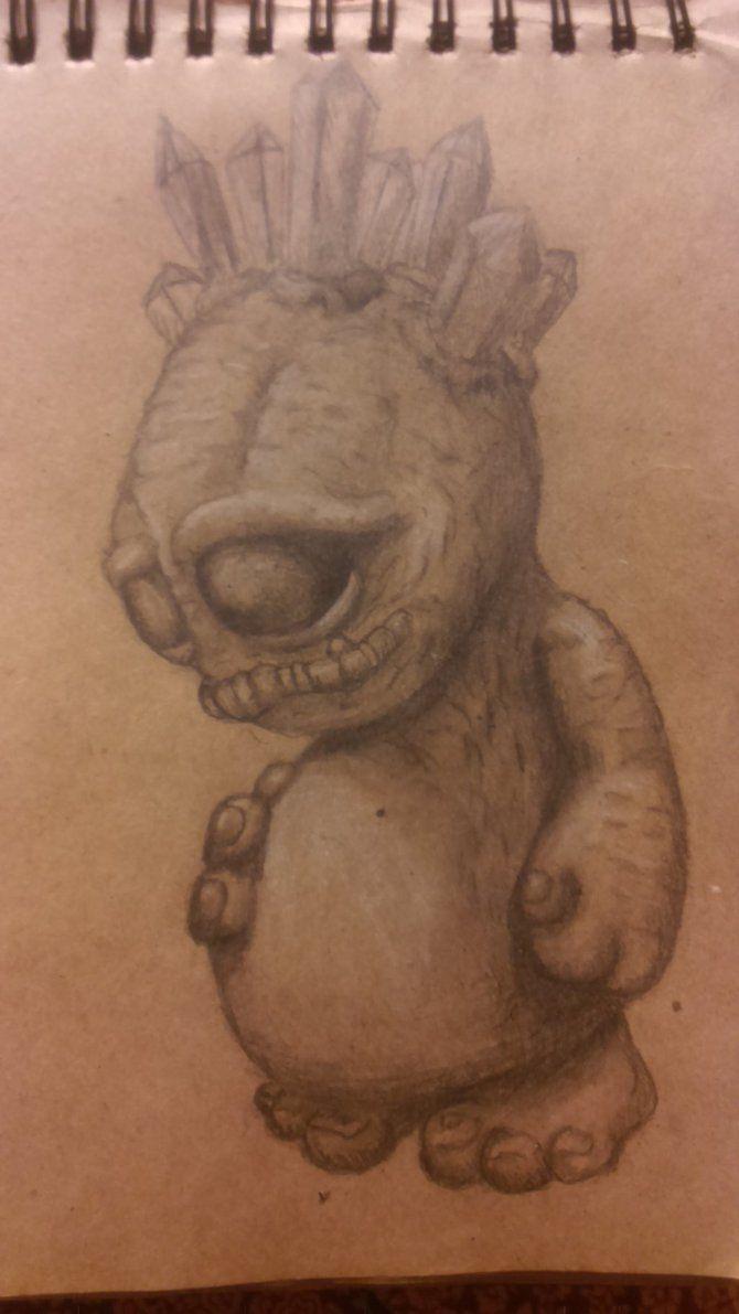 #cute #monster by kuuvalas on DeviantArt #draw #fantasy