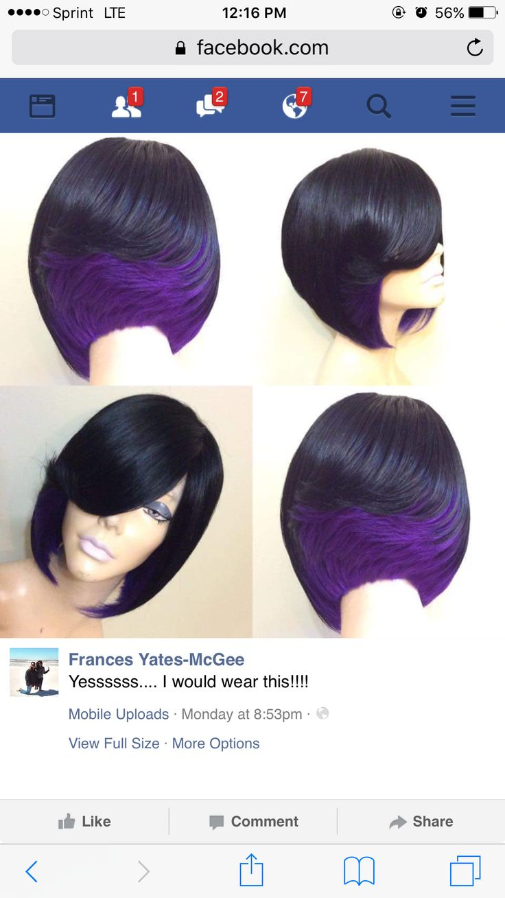 Quick weave bob | Hairstyles | Pinterest | Quick weave bob, Quick weave and Bobs