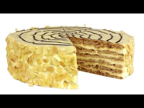 Торт «Агнес Бернауэр» - Kulinar24TV - YouTube