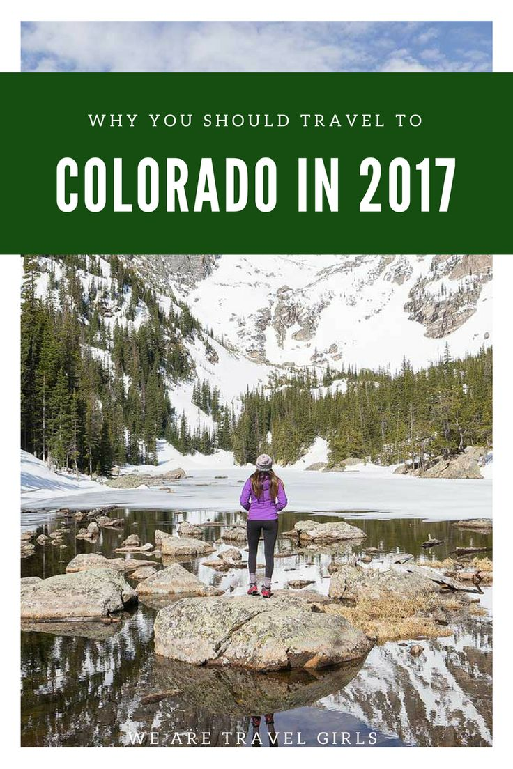 9 REASONS WHY YOU SHOULD TRAVEL TO COLORADO IN 2017! Recent charts show that Colorado is the second fastest growing state in the United States. It's not surprising given the State's insane mountains, epic snow, sunshine, sand dunes, hip cities and friendly people. Not ready to relocate? Well, your loss… BUT you still should add Colorado to your list of places to travel in 2017! By Renee Hahnel for WeAreTravelGirls.com