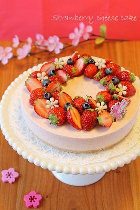 「【春のお菓子】苺のまろやかレアチーズケーキ」ぱお   お菓子・パンのレシピや作り方【cotta*コッタ】
