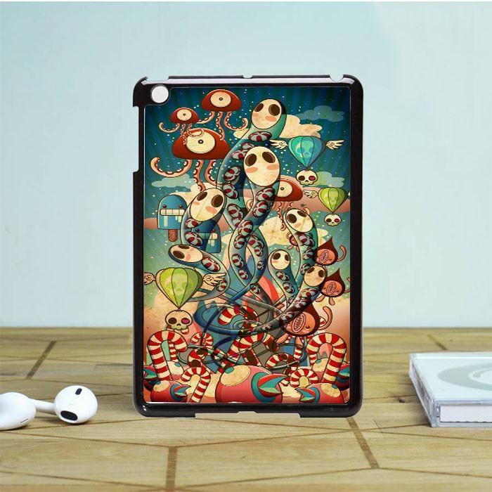 Mural Windows Gurita iPad Mini 2 Case Dewantary