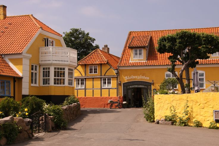 Bordinghouse In Svaneke | Bornholm | Denmark | Photo By Bente Joensson