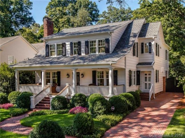 1936 Colonial Revival in Charlotte, NC.
