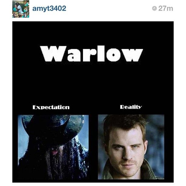 True Blood. Warlow - expectation vs. reality. So accurate! True Blood, season 6.