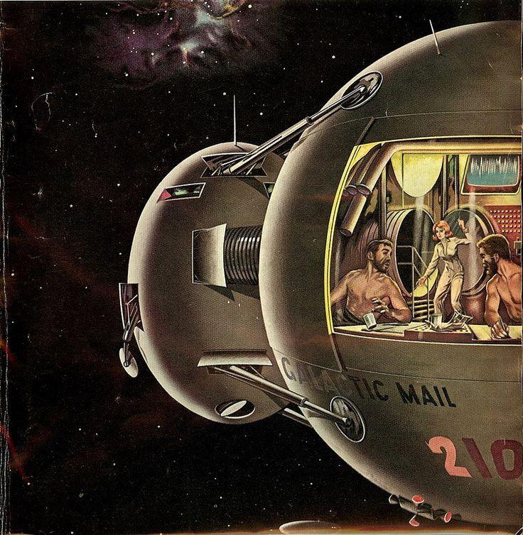 259 Best Retro-Futuristic Space Art Images On Pinterest