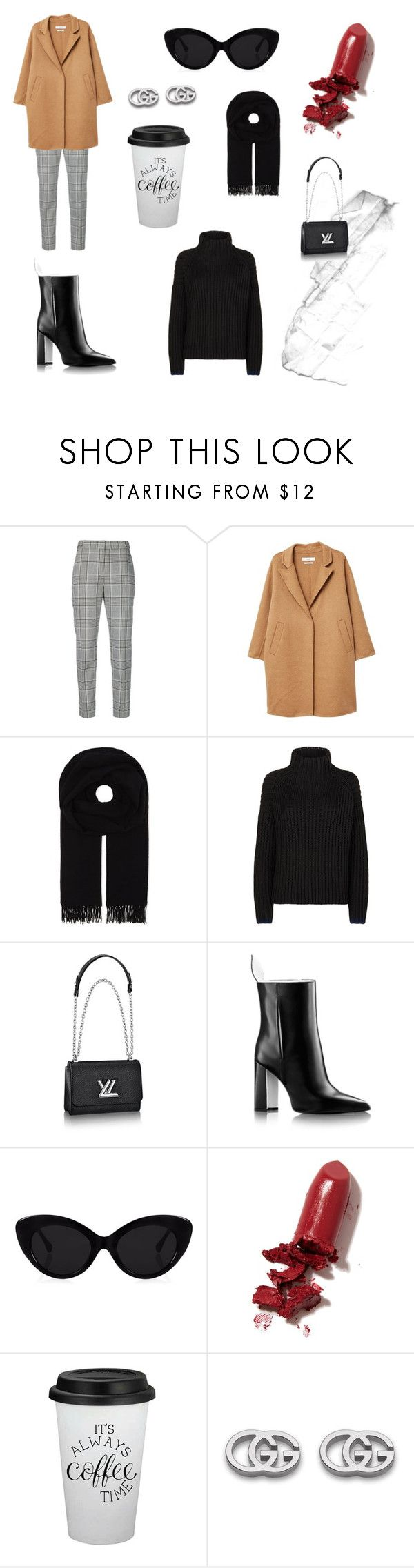 """""""Untitled #69"""" by pilvihelen on Polyvore featuring Alexander Wang, MANGO, Canada Goose, Victoria, Victoria Beckham, Louis Vuitton, LAQA & Co. and Gucci"""