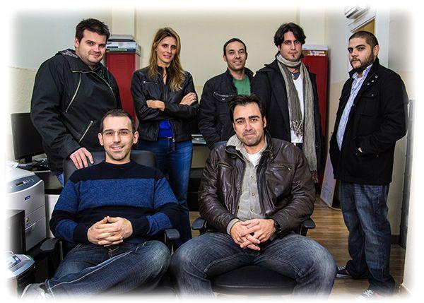 El equipo de Descubridores. Atrevida Producciones y Piruleta y Media