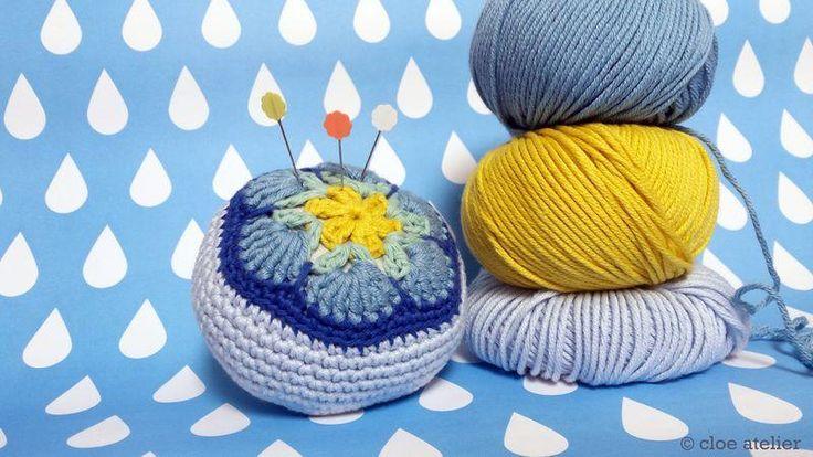 El crochet y la costura se unen en este tutorial para elaborar un acerico. ¿Te lo apuntas?