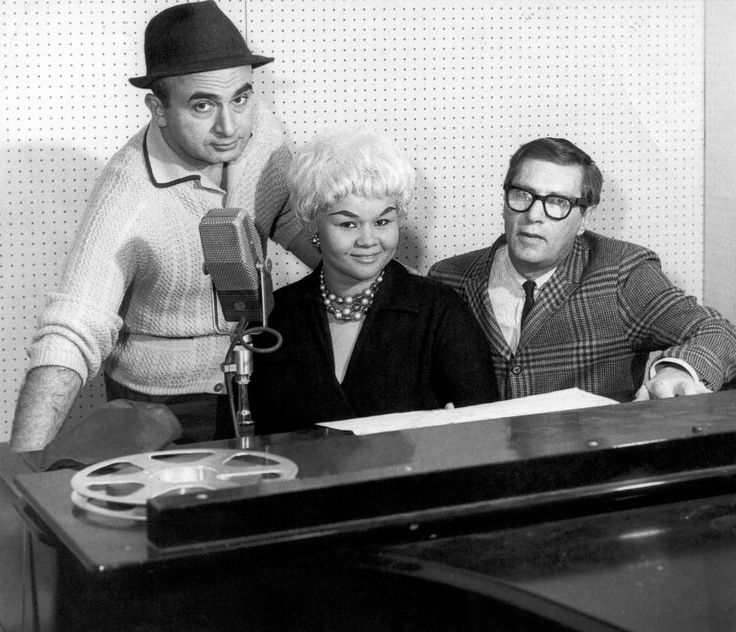 Etta James: CHICAGO - 1960: (L-R) Chess Records founder Phil Chess, R