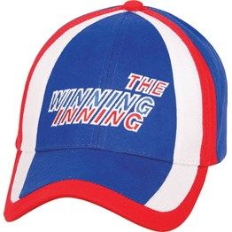 Structured cap, Tri colour crown design http://bit.ly/1wZnDN9