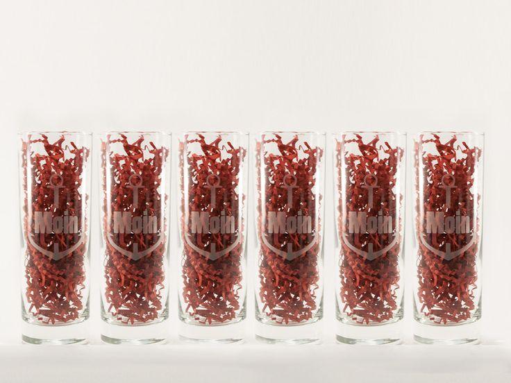 Gläser - Longdrinkgläser Anker 6er Pack! - ein Designerstück von Various-Ideas bei DaWanda