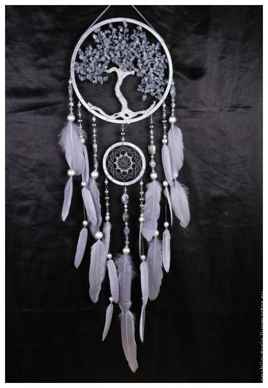 Купить Gray Dream Catcher Tree Of Life Dreamcatcher