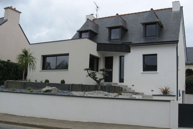 Atelier 89 - Rénovation / Extension néo-bretonne - Saint-Brieuc | Extension maison bois ...