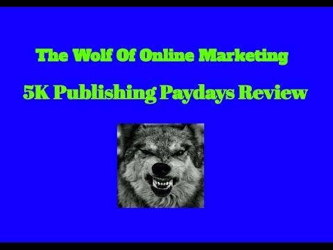 5K Publishing Paydays Review– A very Interesting Method!