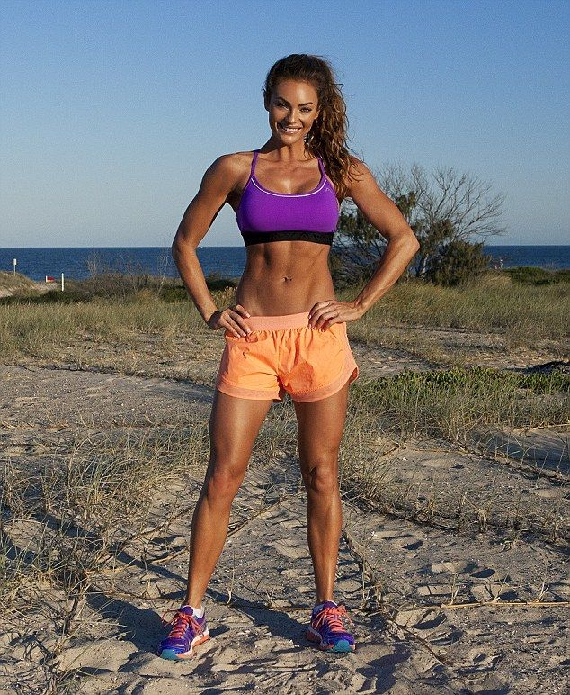 Emily Skye, an Australian personal trainer, is a former model who used to have terrible ea...