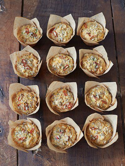 Sweet potato , Chili, Seed & Cheese Muffins | Bread Recipes | Jamie Oliver I LOVE Jamie Oliver and these muffins are no exception to his fresh delicious healthy recipes. I added a touch of chipotle for some spice
