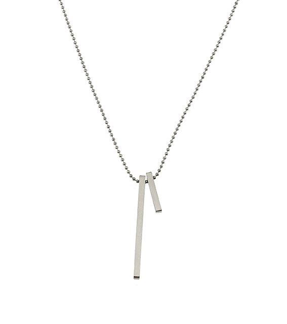 Edblad Two Necklace Steel