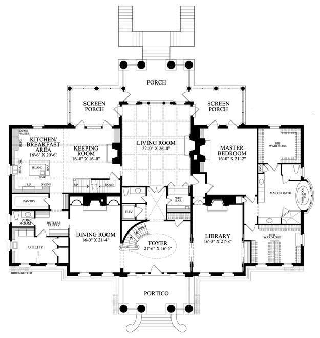 105 best Great House Plans images on Pinterest | Dream house plans ...