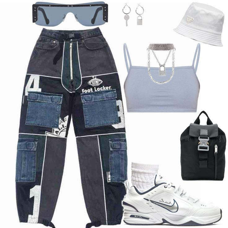 Outfit Inspiration: blau