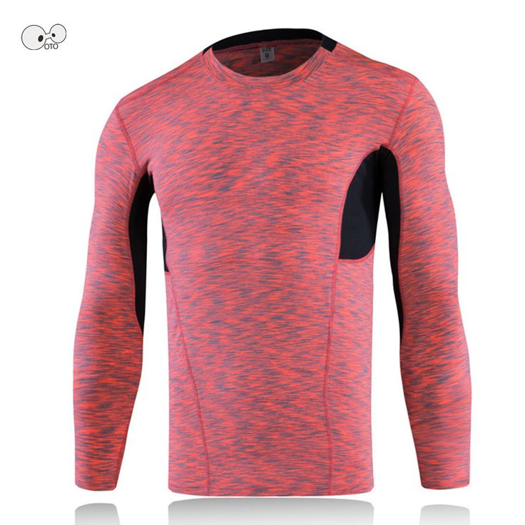 Men Bodybuilding Fitness Compression Shirts Base Layer Colorful Dyed Long Sleeve Running Tops Skin Tight MMA Rashguard T-Shirt. Yesterday's price: US $15.23 (12.54 EUR). Today's price: US $11.42 (9.40 EUR). Discount: 25%.
