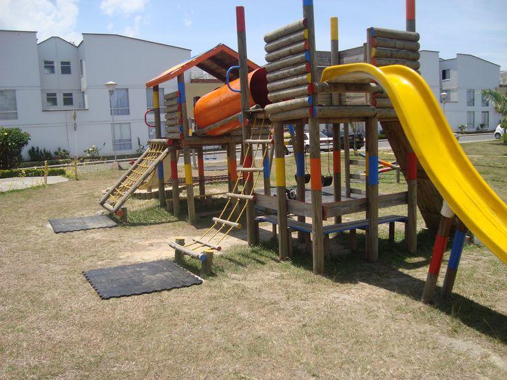 Piso de Caucho Parque Infantil www.pisodecaucho.com.co