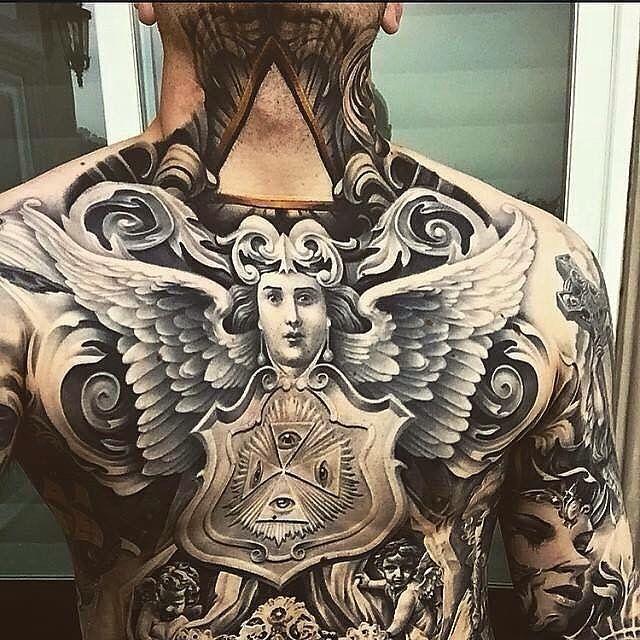 Die 25 Besten Ideen Zu Engelstattoo Design Auf Pinterest: Die Besten 25+ Brust Tattoo Engel Ideen Auf Pinterest