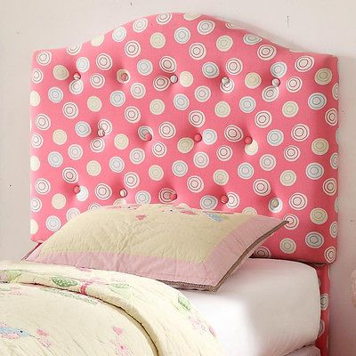Kids Padded Tufted Headboard S Playroom Bedroom Furniture Twin Size