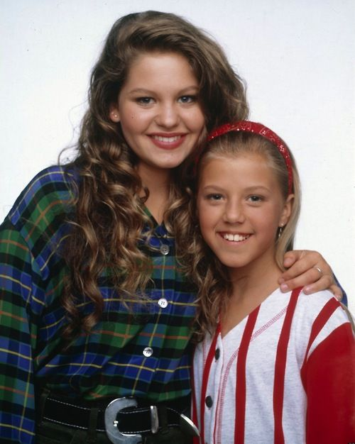 Candace Cameron and Jodie Sweetin