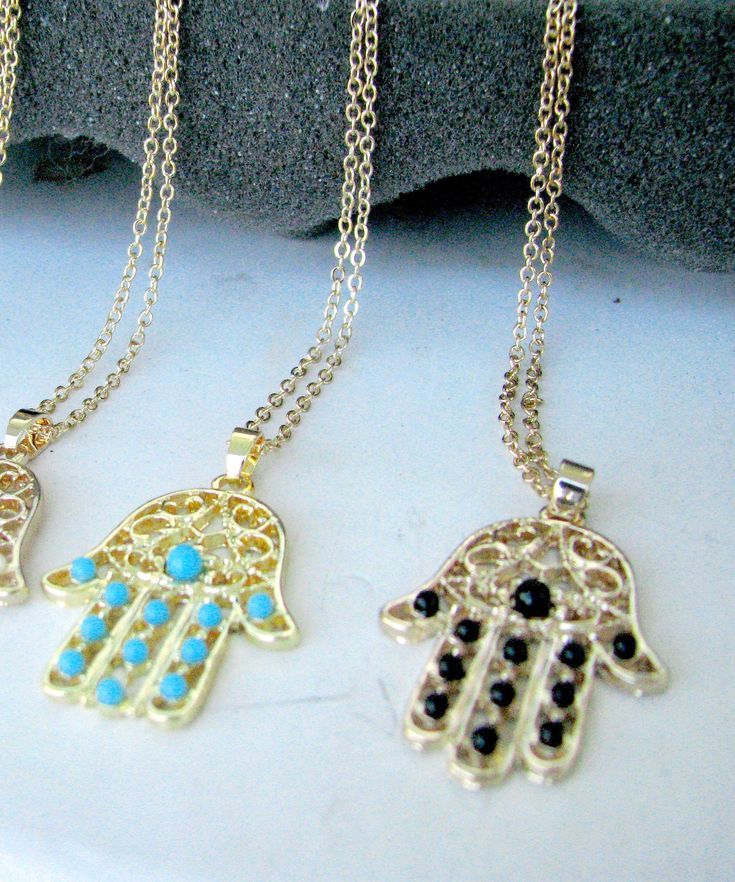 Excited to share the latest addition to my #etsy shop: Hamsa hand pendant, hamsa hand necklace, fatima hand necklace, evil eye protector necklace, lucky charm necklace, http://etsy.me/2oTyFTk #jewellery #necklace #hamsahandnecklace #hamsajewelry #hamsanecklace #hamsabr
