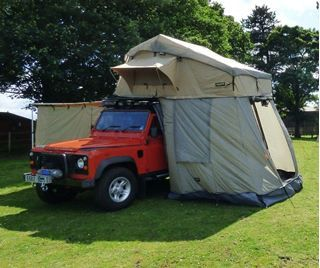 Picture of Land Rover Defender & Discovery three or four man tent