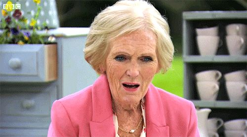"MARY BERRY. | 24 Reasons You Should Be Watching ""The Great British Bake Off"""