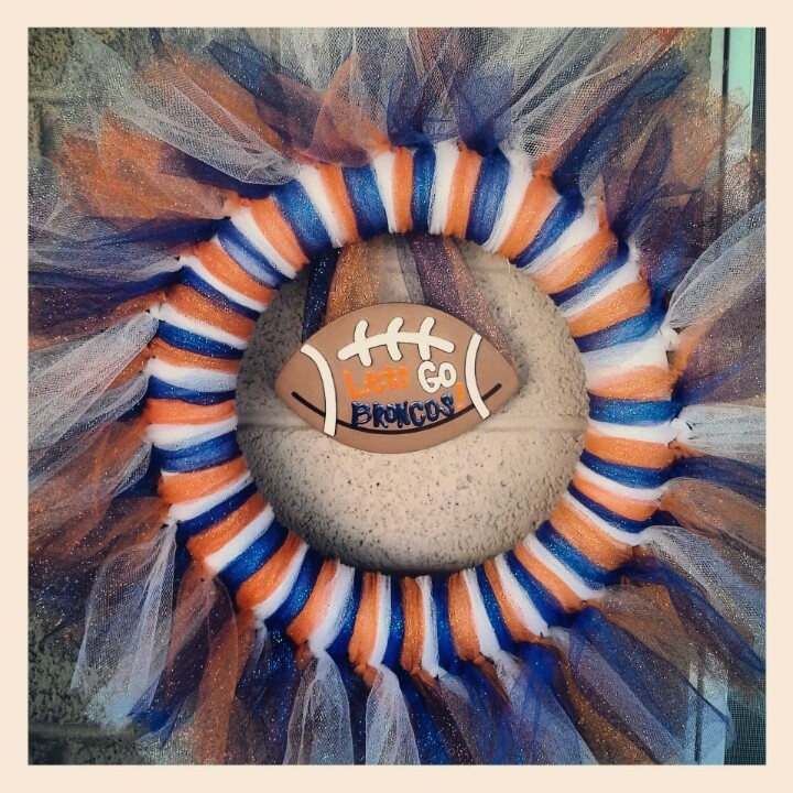 why are all the football wreaths so frilly?