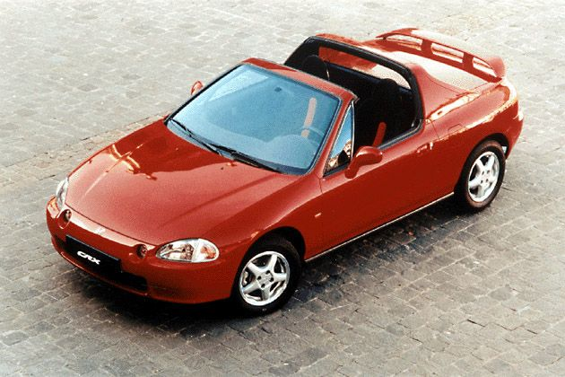 Honda CRX Del Sol - loved that car