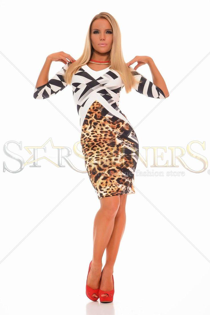 MissQ Nature Free Brown Dress