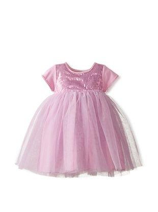 55% OFF Baby Lulu Kid's Party Dress (Sparkle Purple)