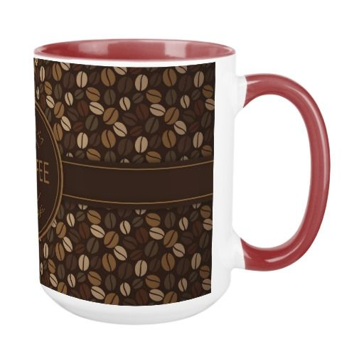 Premium natural coffee mug