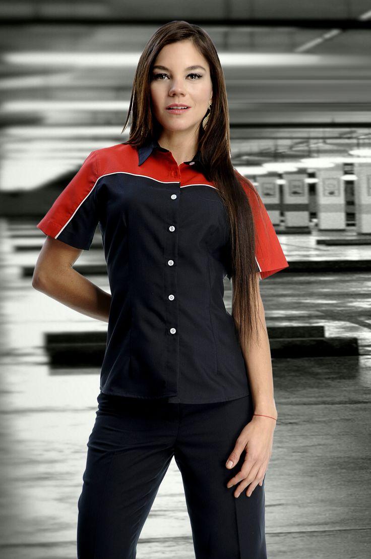 Uniforme con durabilidad, elegancia y confianza para el confort de los empleados www.adeconsultoria.mx