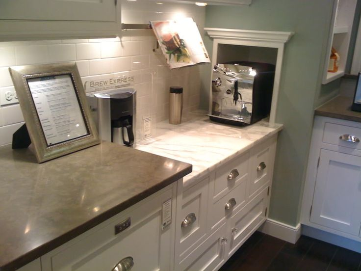 92 best images about kitchen with travertine on pinterest for Cream kitchen paint ideas