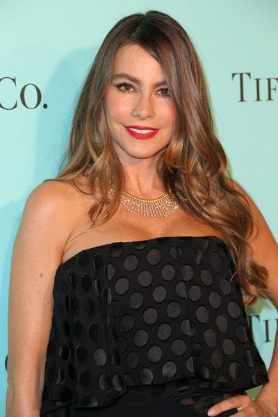 Sofia Vergara celebrates the unveiling of the renovated Tiffany & Co. Beverly Hills store.