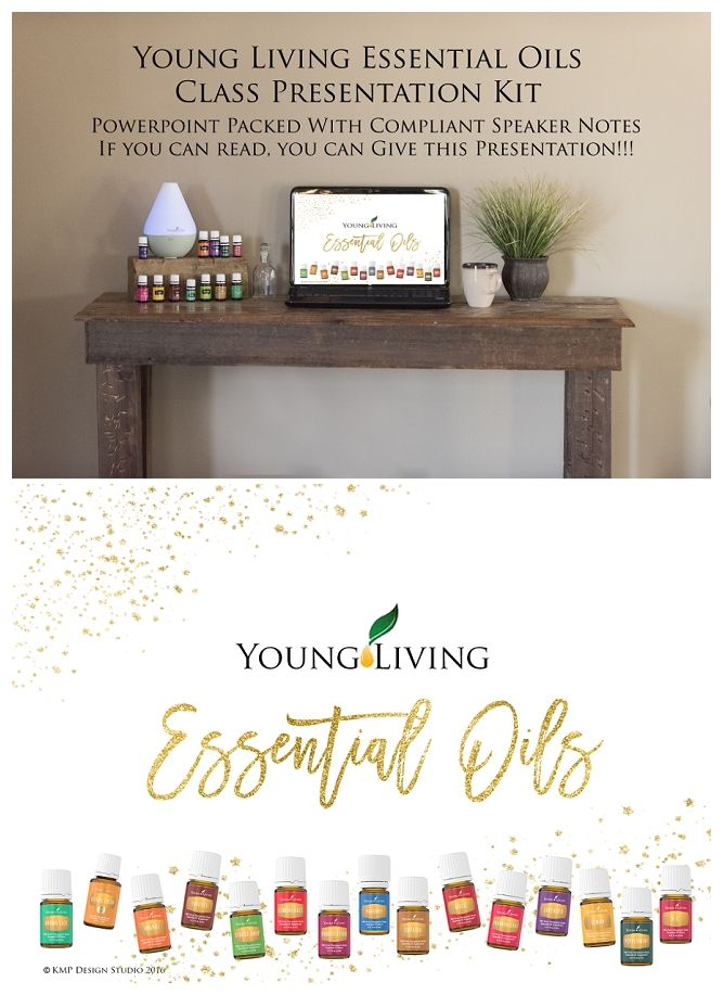 Young Living, essential oils, class, party, curriculum, powerpoint, slideshow, teach, host, kit, bundle, printable, speaker notes, instructor, recipe cards, make and take, make-n-take, coordinating, stylish, party,