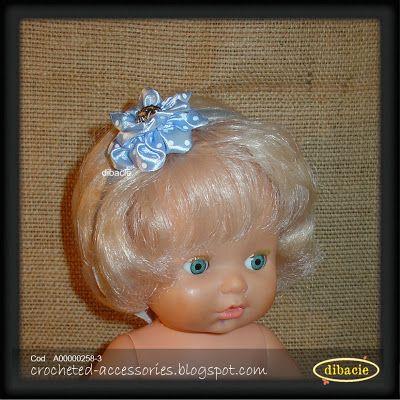 baby headband with silk ribbon flower