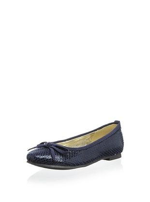 51% OFF Aline Kid's Ballet Flat (Navy)