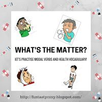 FUNtastyczny Angielski: What's the matter? -game for ESL, FREE printable cards!